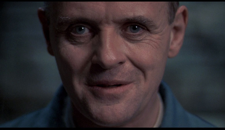 Hannibal Lecter's face