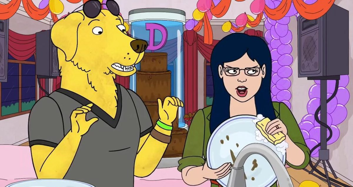 Mr Peanutbutter and Diane